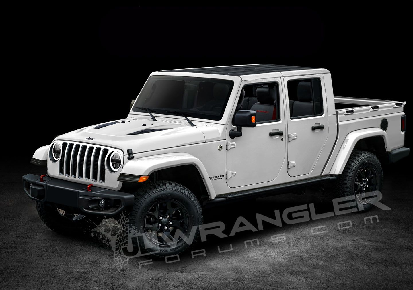 Is This What The New 2019 Jeep Wrangler Pickup Truck Will Look