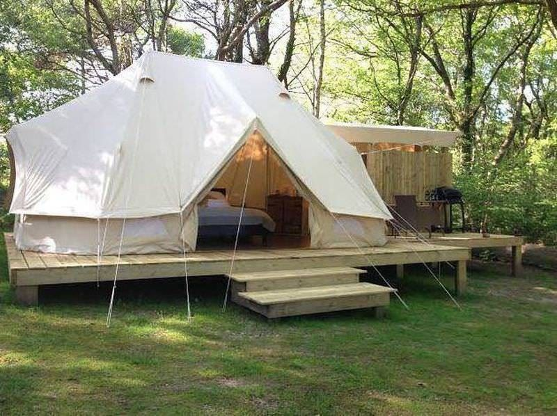 Sibley 600 Twin Ultimate Tent - Large ZIG Gl&ing Tent - Thick Bathtub Floor & Sibley 600 Twin Ultimate Tent - Large ZIG Glamping Tent - Thick ...
