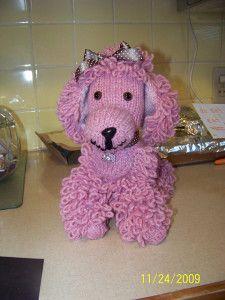 pattern Crochet poodle