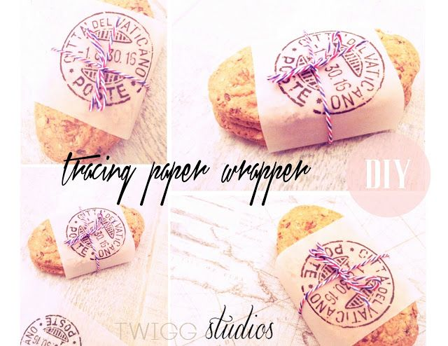 Twigg Studios Tracing Paper Food Wrapper Diy Crafts Diy Smart