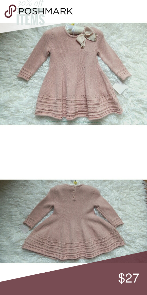 1dca1317749c NWT pink formal baby girl dress for 9month old Brand new with tag ...