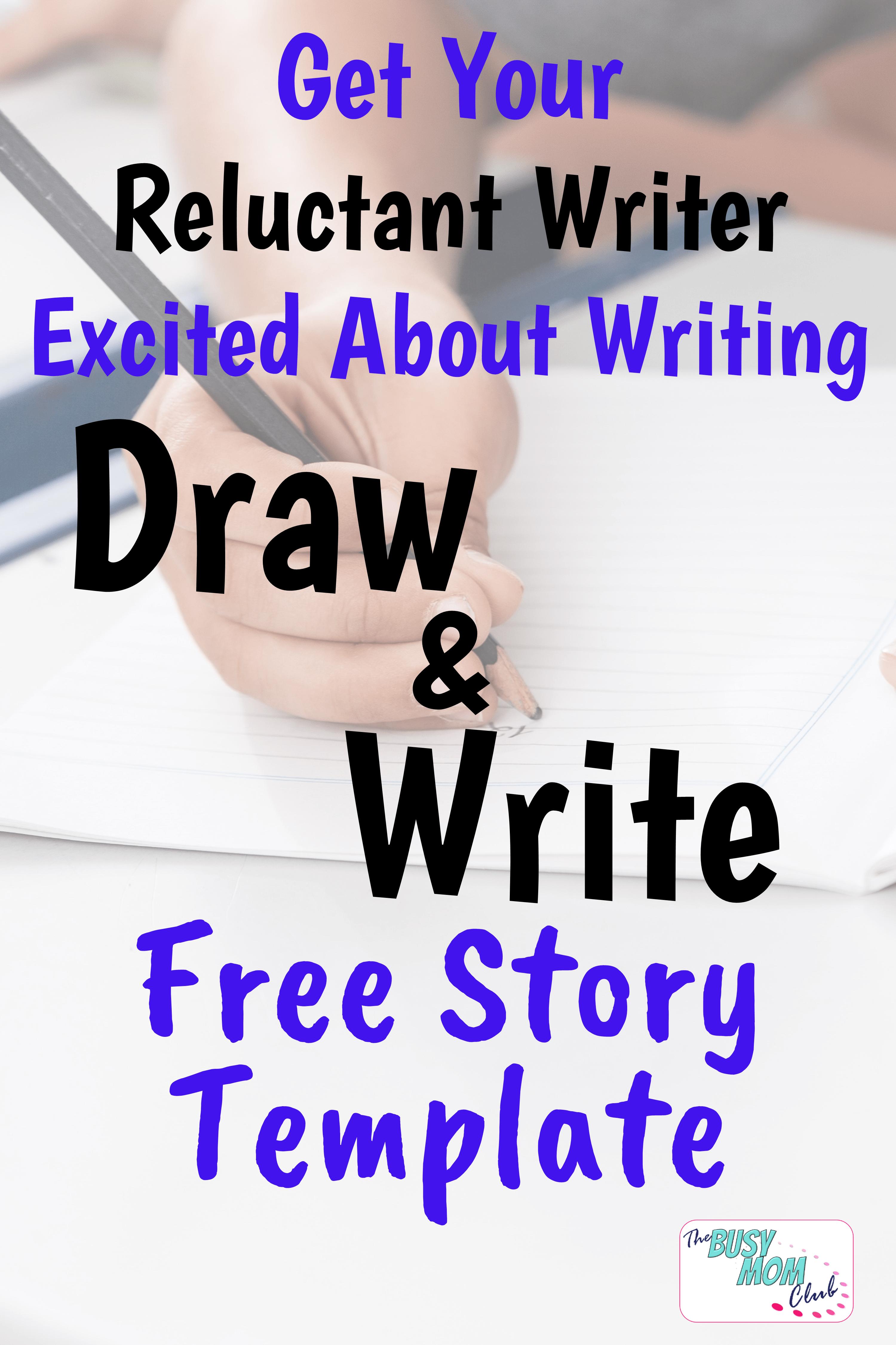 Free Printable Draw Amp Write Story Template