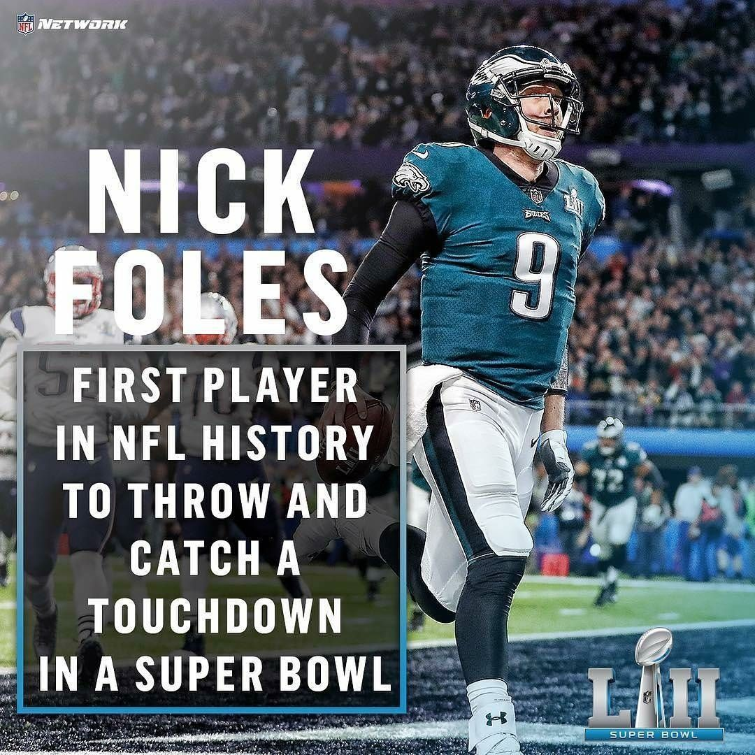 From Nflnetwork Nick Foles Making History Jeff Roberson Ap Doubletap Tag A Philadelphia Eagles Cheerleaders Philly Eagles Philadelphia Eagles Football