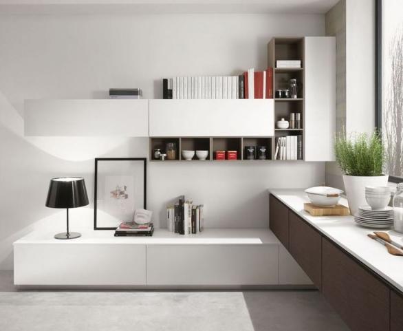 Pensili sospesi e idea soggiorno | Home design | Pinterest