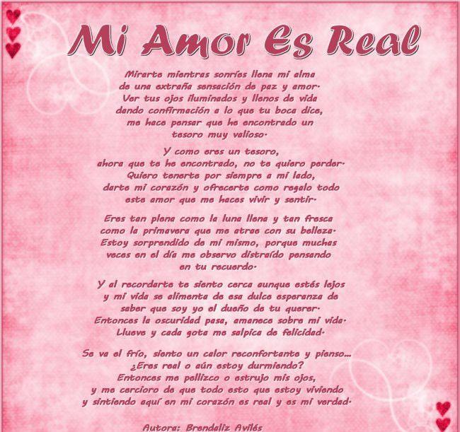 Poemas De Amor Para Mi Novia Largos Para Enamorar Muy