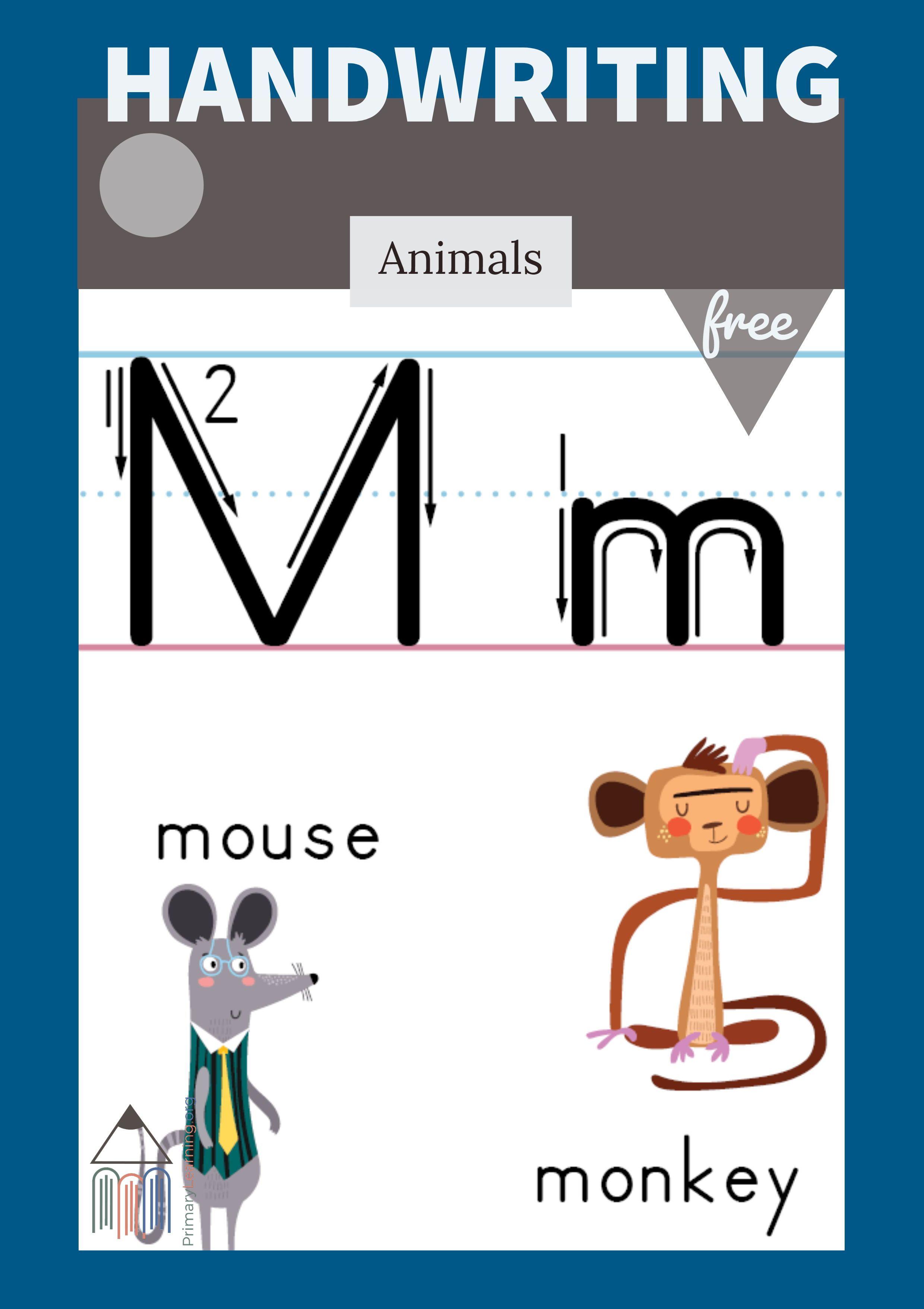 Letter M Printable Poster