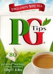 PG tips Black Tea, 80 Count Box 80pyramid tea bags( pack of 2) - http://teacoffeestore.com/pg-tips-black-tea-80-count-box-80pyramid-tea-bags-pack-of-2/