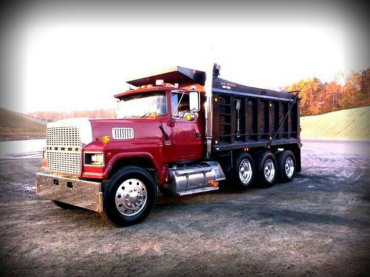 Ford Ltl 9000 Trucks Dump Trucks Big Trucks