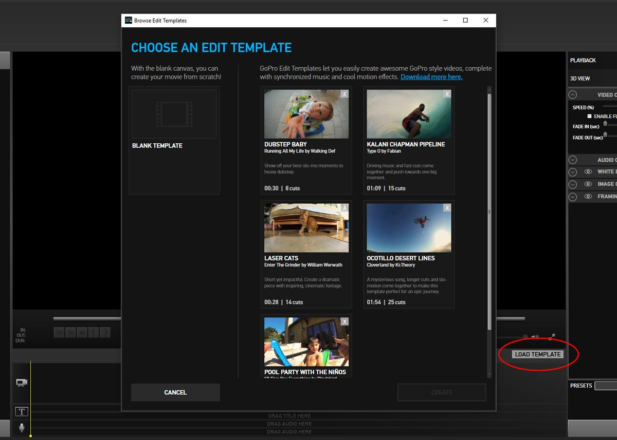 How to Download More GoPro Edit Templates | photo | Pinterest ...