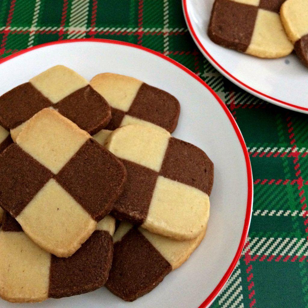 Checkerboard Icebox Cookies Sweet Treats Cookies Icebox Cookies