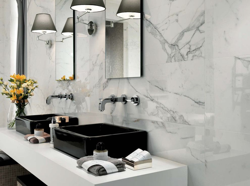 Atlas Concorde Contemporary Bathroom Decorators New York Atlas
