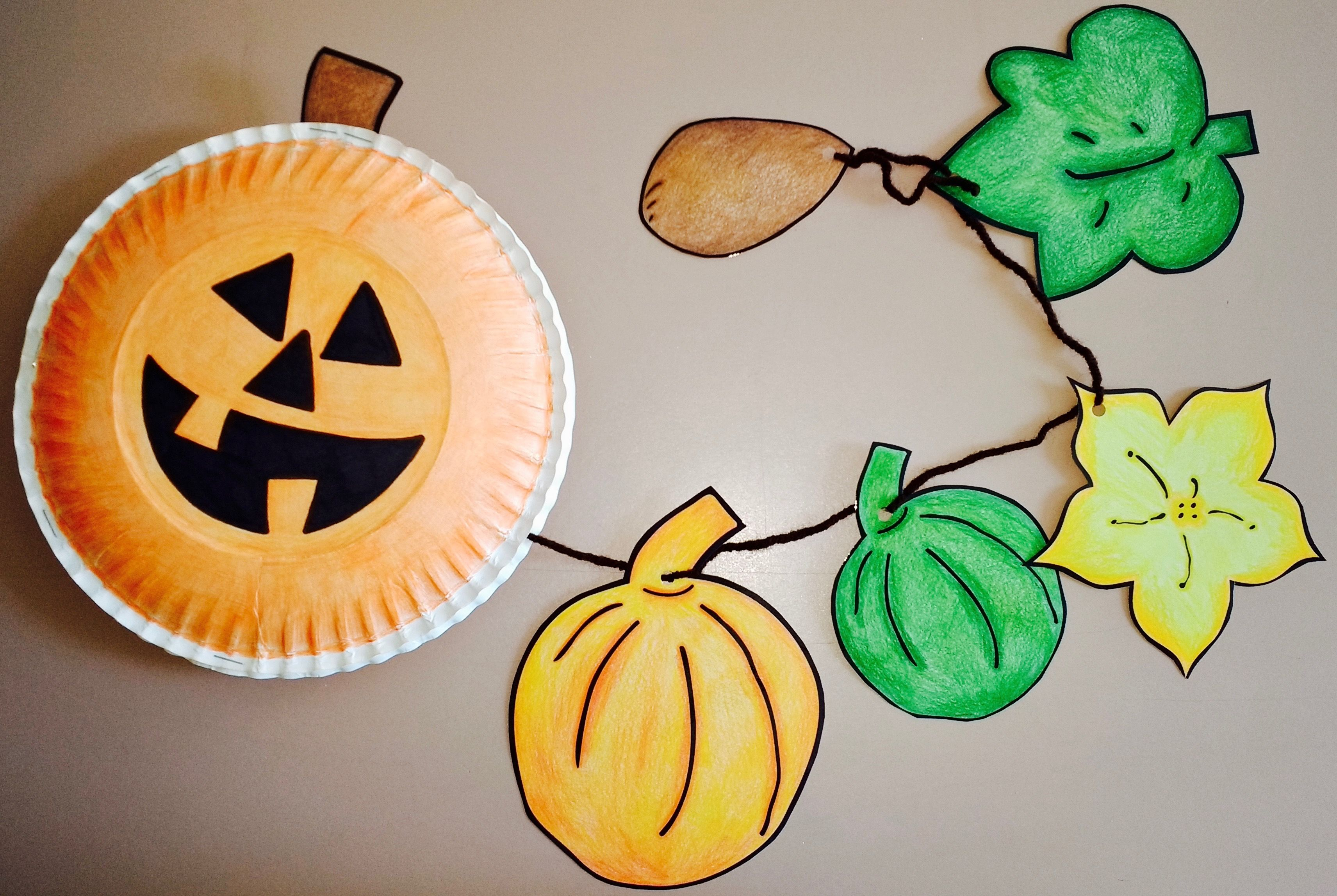 Fresh Ideas - National Agriculture in the Classroom Pumpkin life cycle