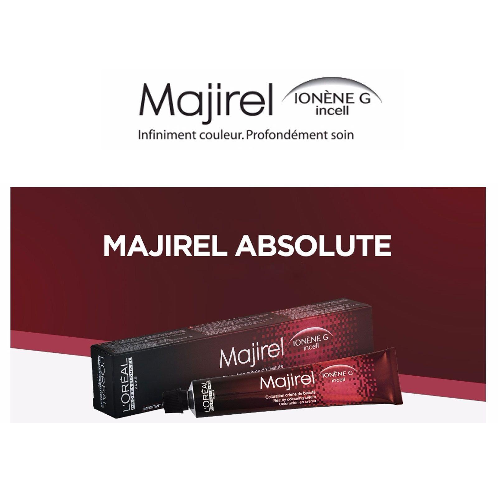 Loreal Majirel Hair Dye Permanent Beauty Coloring Cream Professional