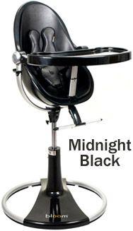 High Chairs bloom fresco loft High Chair Black Base Midnight Black