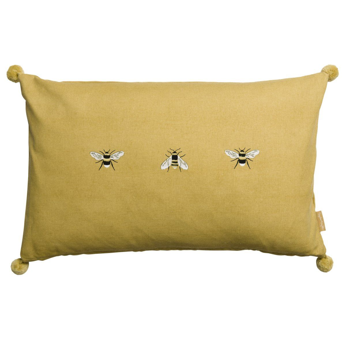 Bees embroidered cushion embroidered cushions cushions