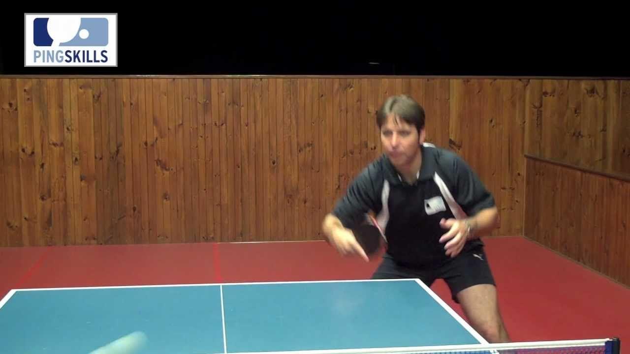 Table Tennis Backhand Counterhit Lesson Table Tennis Tennis Coach Tennis Tips