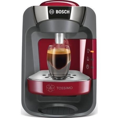 Bosch Tassimo Suny Coffee Machine Red The Quick One
