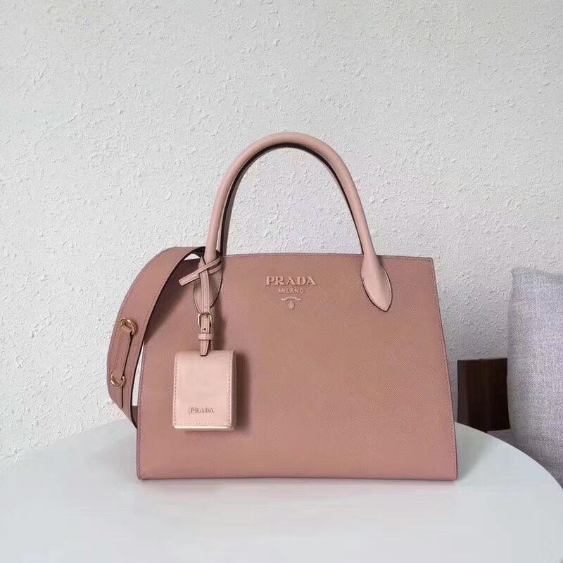 f5f27ff9306d Prada summer 2018Cheap Prada Monochrome saffiano leather pink | Bags ...