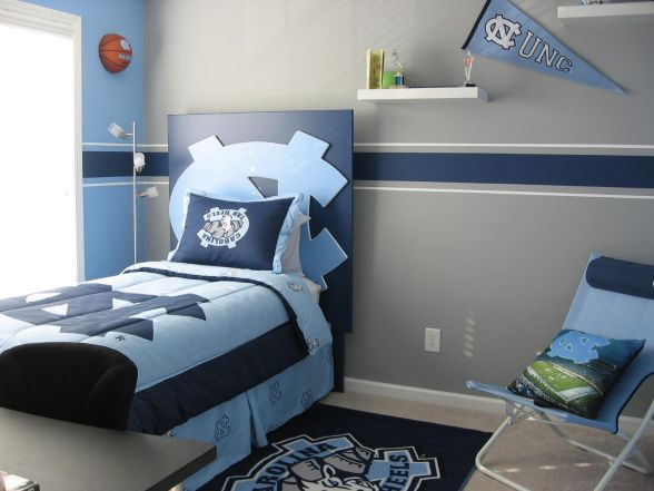 unc+bedroom+ideas |  tarheels! - boys' room designs