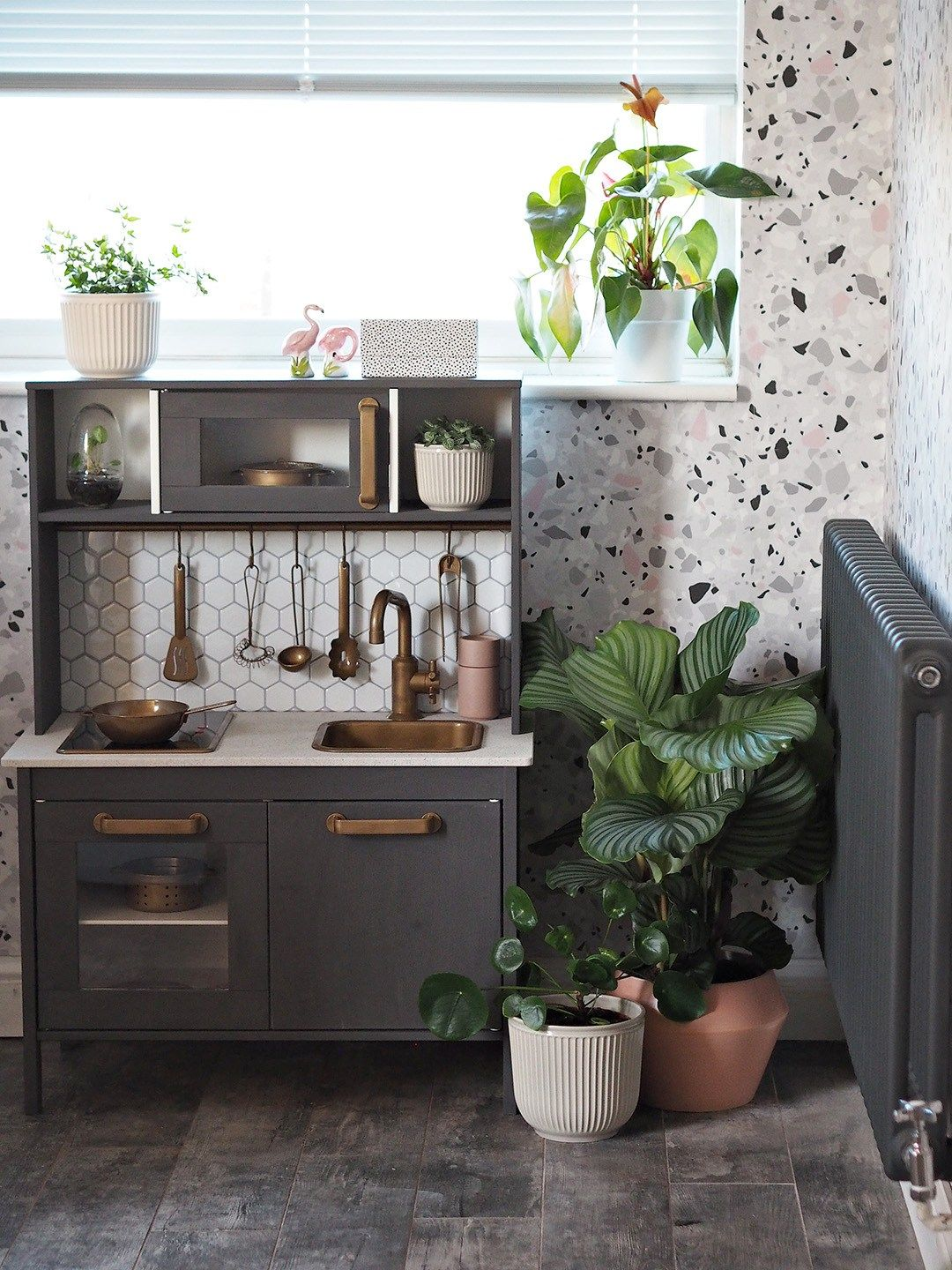IKEA DUKTIG Play Kitchen with Aldi Upcycling Range in 2020 ...