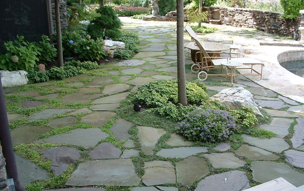 Pathways amp steppers sisson landscapes - Garden Ideas