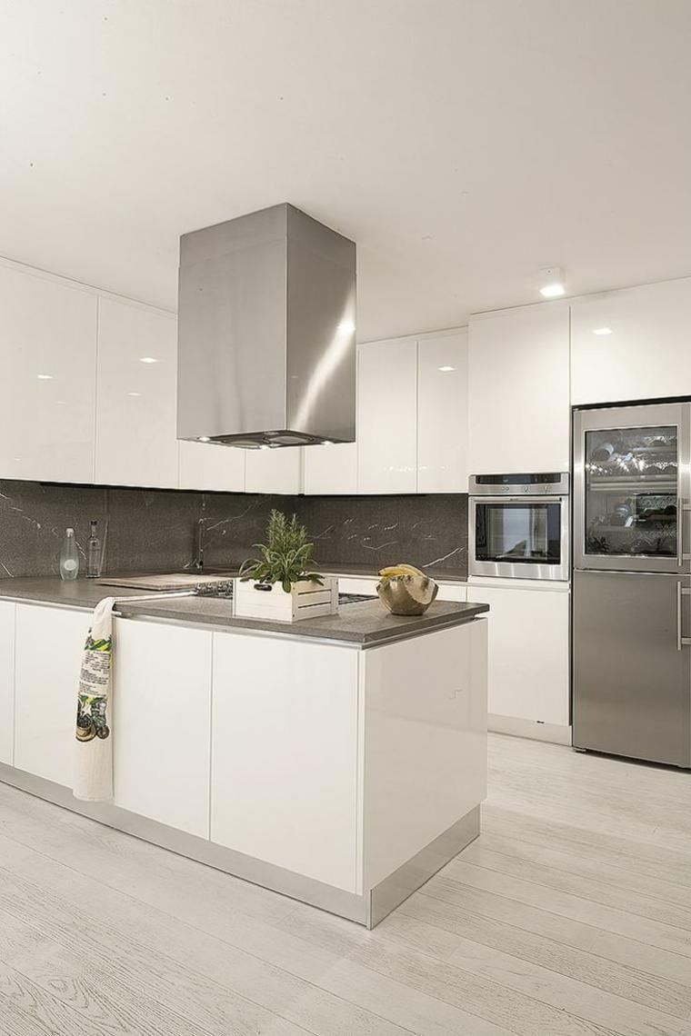 Weiße Küchen strahlen und Eleganz zu Hause  Weisse küche, Küche