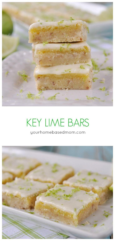 Key Lime Bars Recipe Lime Bar Recipes Lime Recipes Lime Desserts