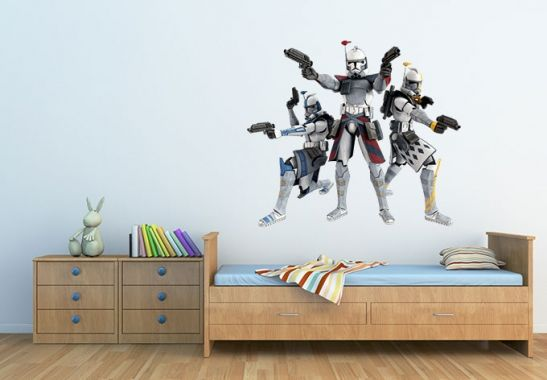 Star Wars Clone Troopers - Wandtattoo für Jungs | wall-art.de Online ...