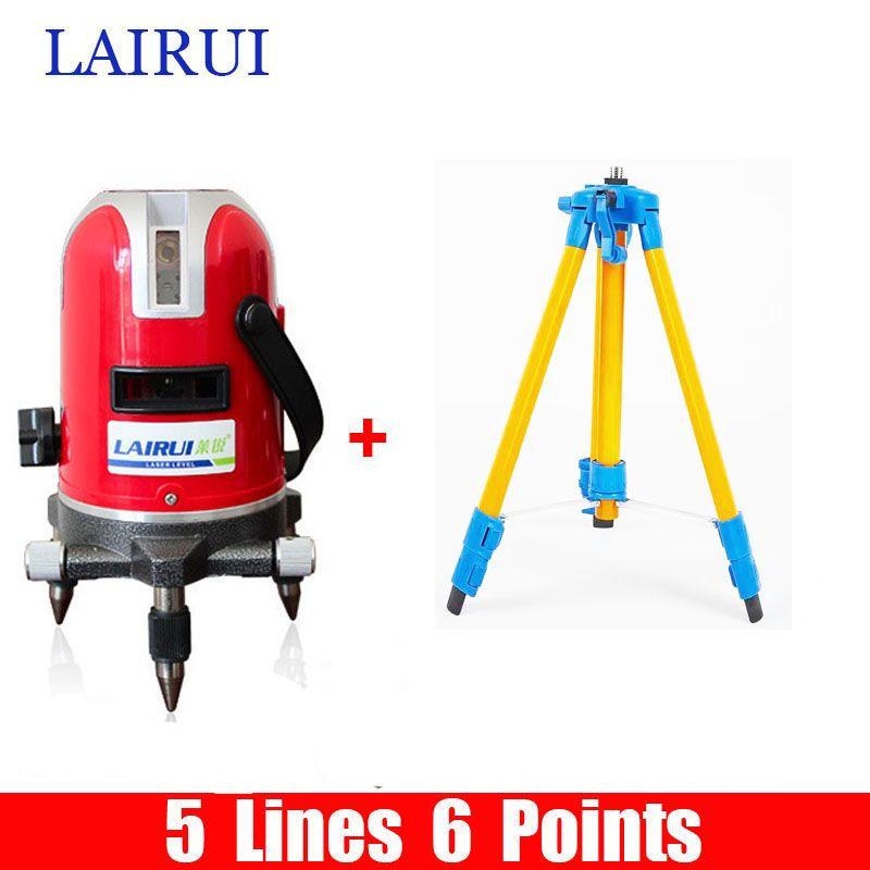 Us 61 51 Lairui 5 Lines 6 Points Laser Level 360 Degree Rotary Cross Strong Bag Cross Degree Lairui Laser Level Lines Points Rotary Strong
