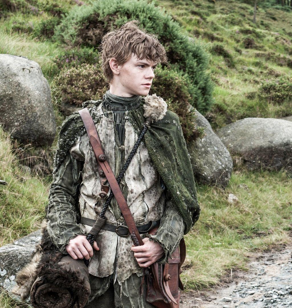 Thomas-Brodie Sangster as Jojen Reed in Game Of Thrones.