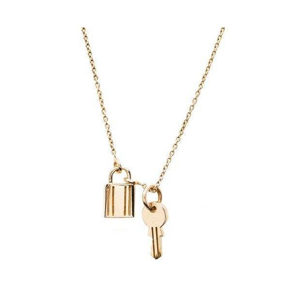 Lock And Key Necklace Lock Jewelry Key Necklace Lock Necklace