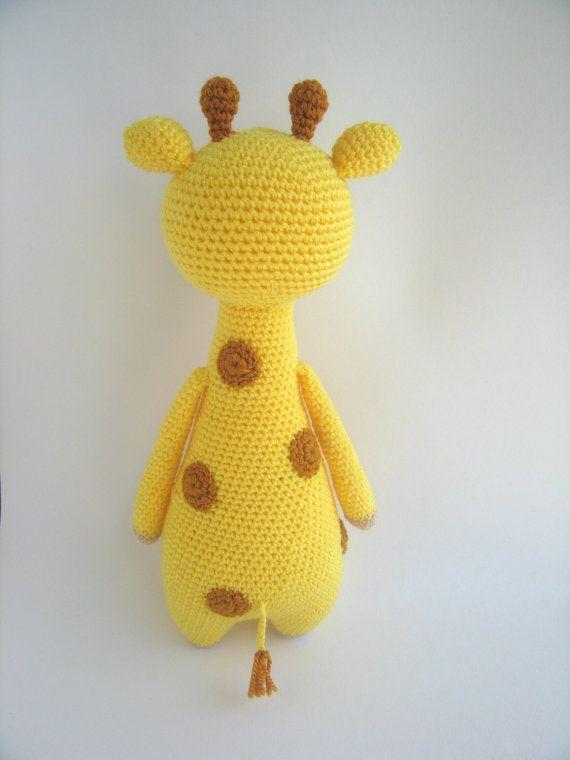 Jirafa con manchas Patrón de crochet