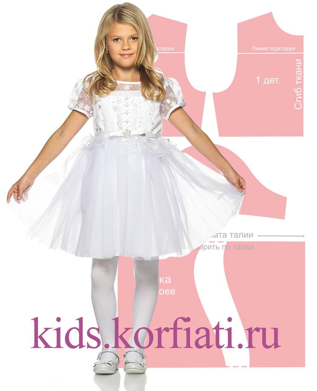 Выкройка платье с фонариками для девочки фото 707