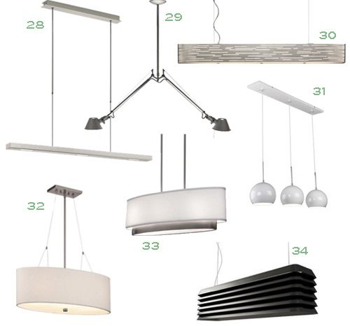 I perused lumens ylighting lightology lamps plus etc and found plenty of linear suspension lighting 34 of my favorite linear suspension lights here