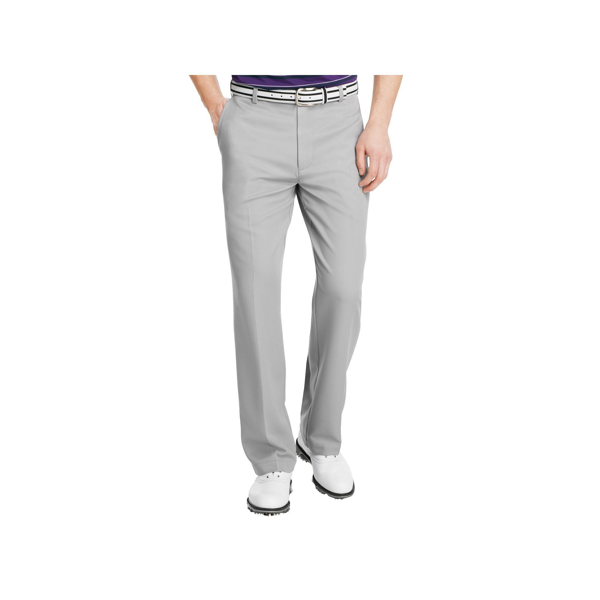 8e911b14b6 Men's IZOD XFG Microsanded Microfiber Performance Golf Pants, Size: 44X30,  Dark Grey