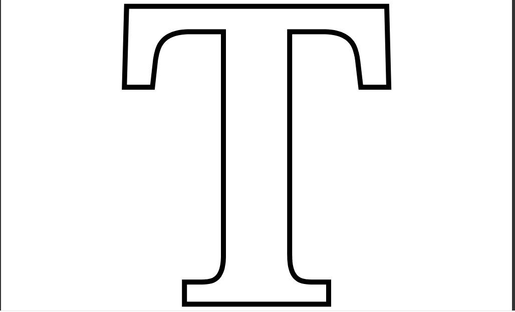 graphic relating to Printable T referred to as Printable PDF Letter T Coloring Site Printable Alphabet