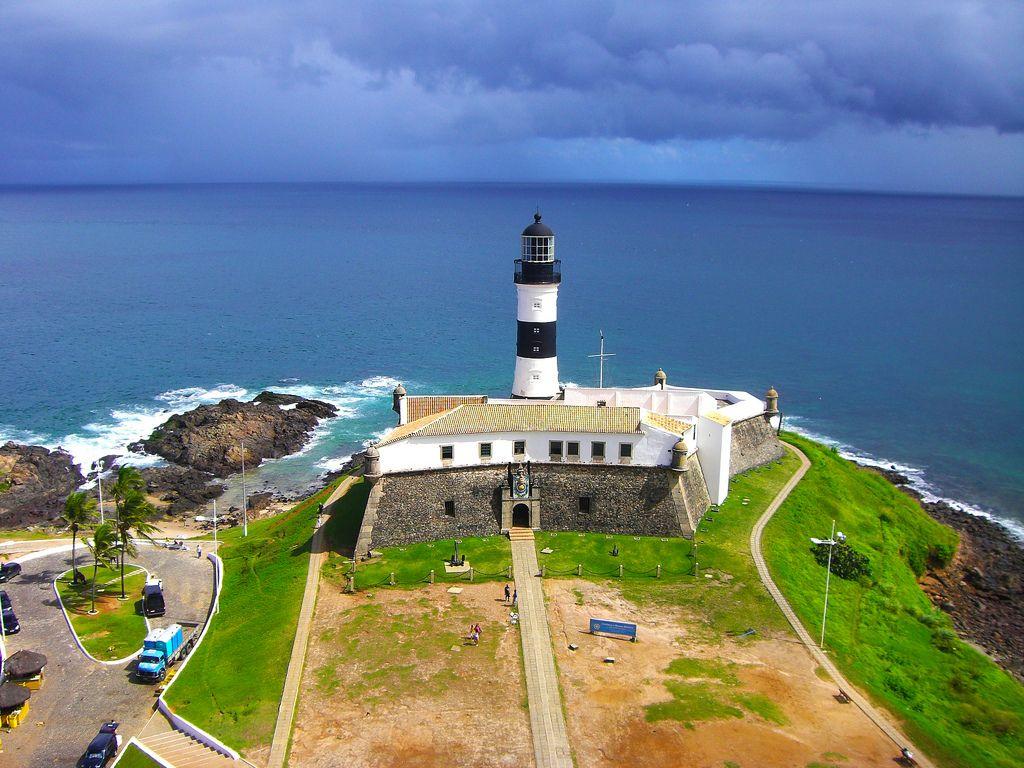 Farol da Barra - Salvador - Bahia - Pesquisa Google | Santa catarina  praias, Farol, Turismo