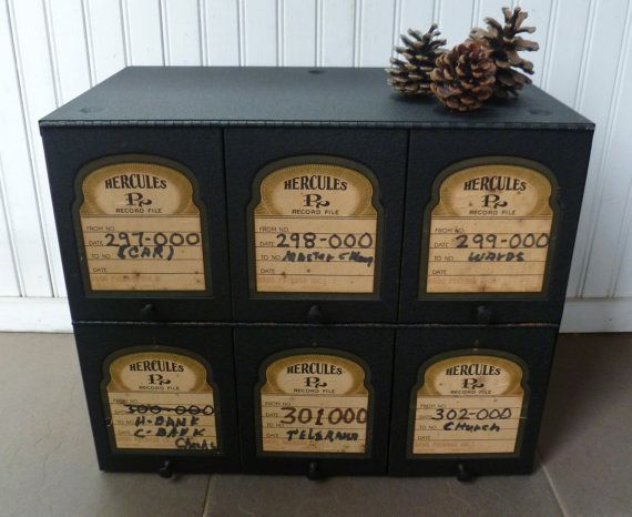 Pharmacy Storage Cabinet Cubbies. Hercules Rx by MoonstruckCottage