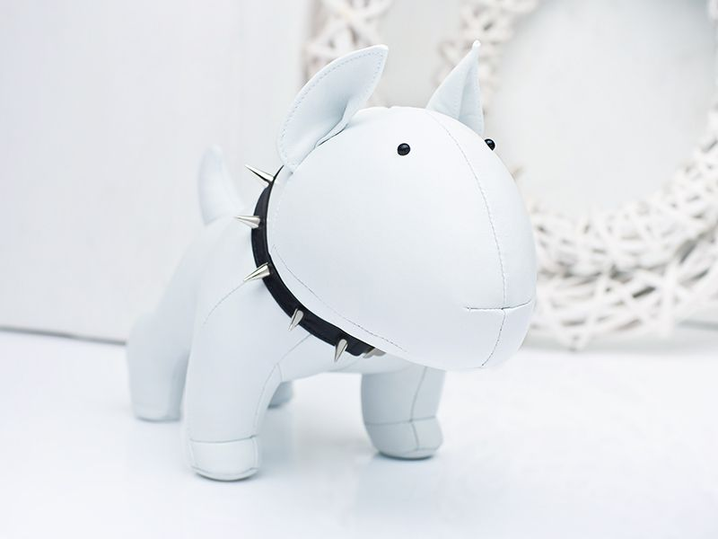 We have finished our bull terrier toy! | Bull Terrier | Pinterest ...
