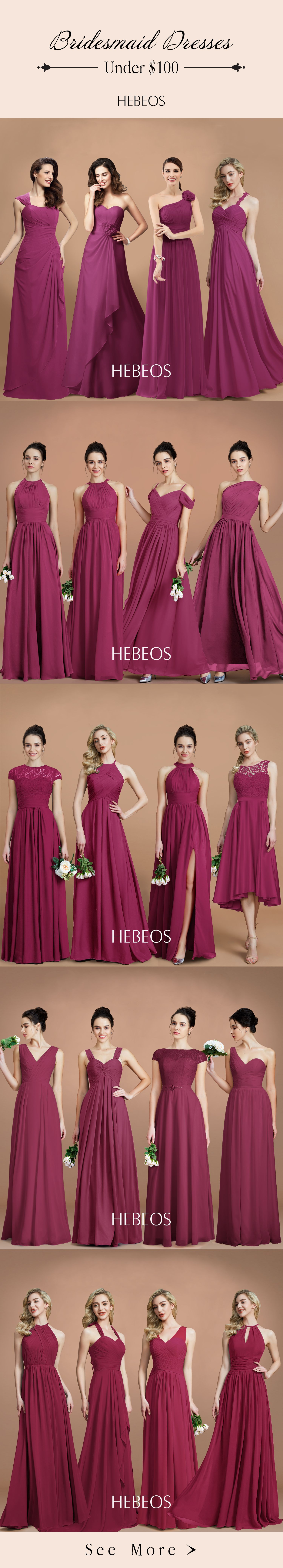 Spice up your traditional red bridesmaid dresses with burgundy spice up your traditional red bridesmaid dresses with burgundy bridesmaid dresses shop at hebeos ombrellifo Gallery