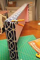 Make Window Cornice Boards From Foam Core Easy Peasy In