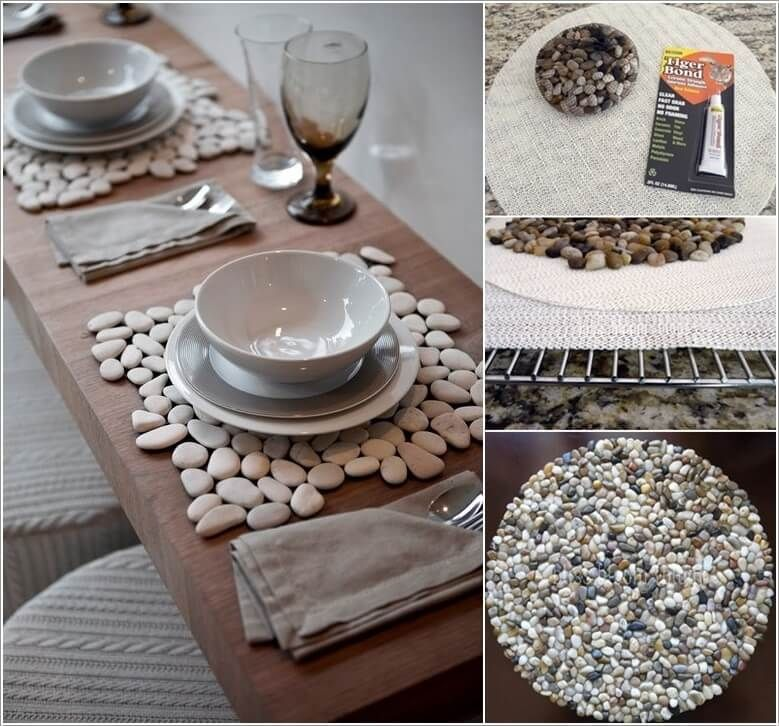 10 Wonderful Diy Placemat Ideas For Your Dining Table Round