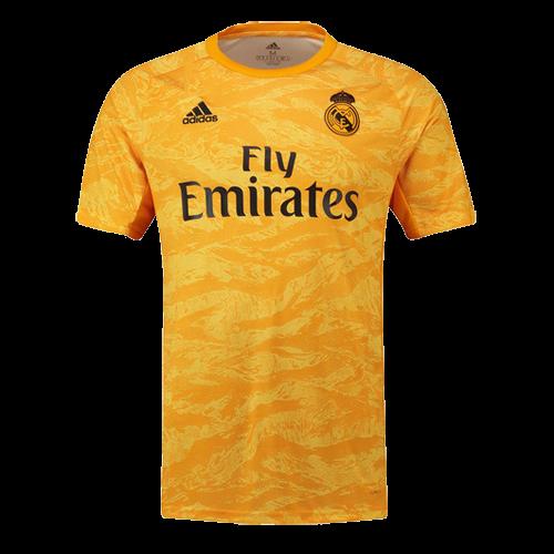 19 20 Real Madrid Goalkeeper Yellow Jerseys Shirt Real Madrid Jersey Shirt Sale Real Madrid Goalkeeper Goalkeeper Jersey Shirt