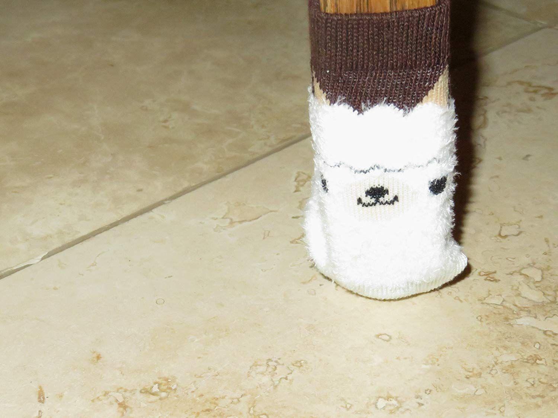 Niedliche Alpaka Stuhlsocken Mobelschutz Mit Stil Die Bein