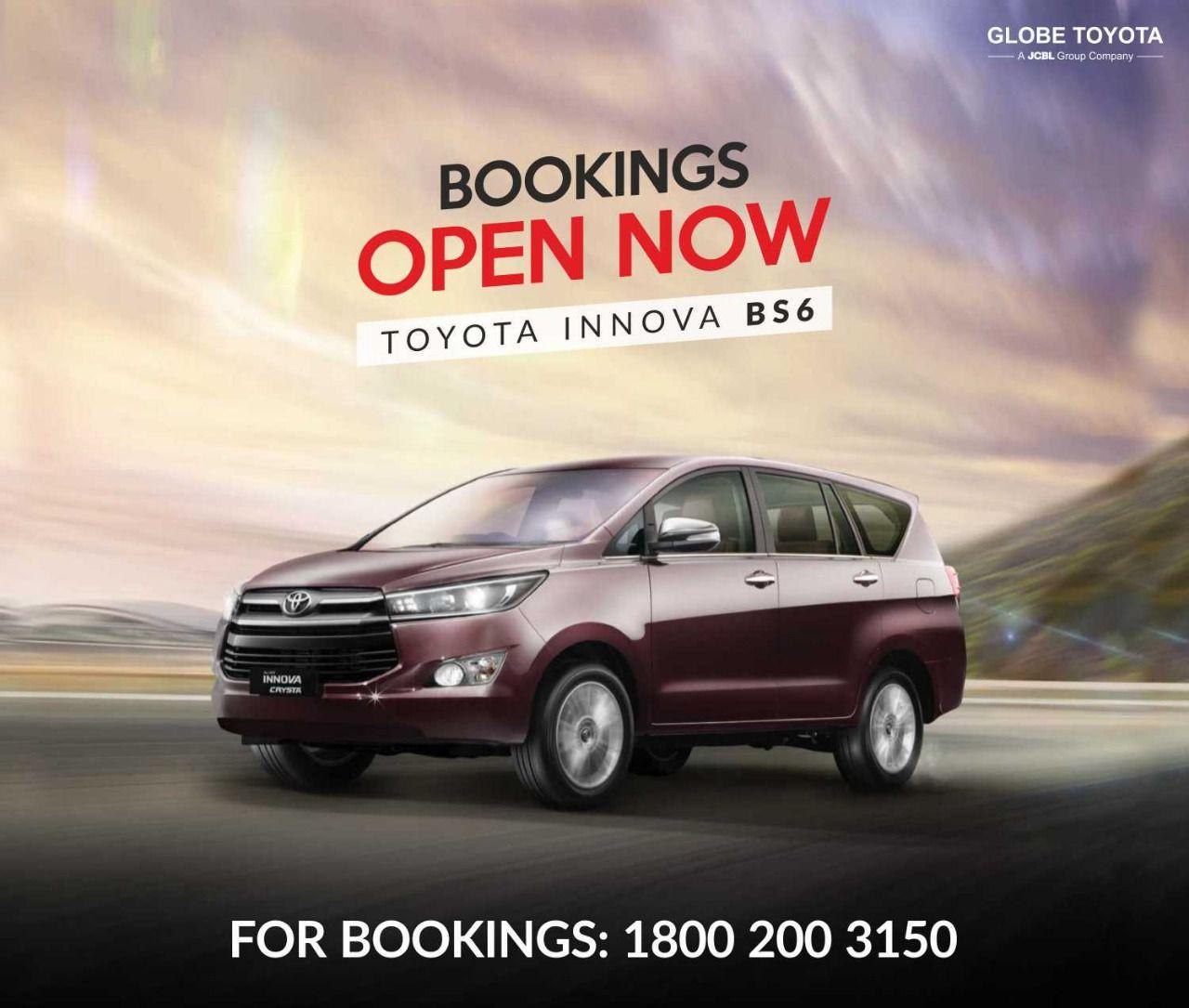 Oyota Innova Bs6 Upgrade In 2020 Toyota Innova Toyota Globe