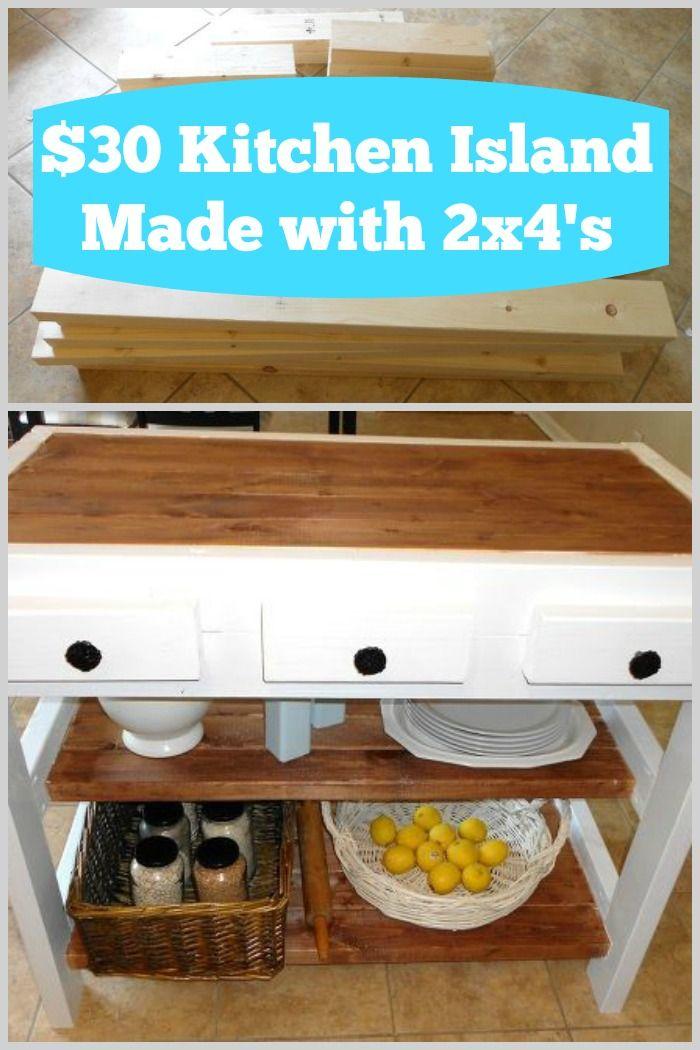 A mom goes to Lowe\'s and buys a pile of 2x4s. For $30, she creates ...