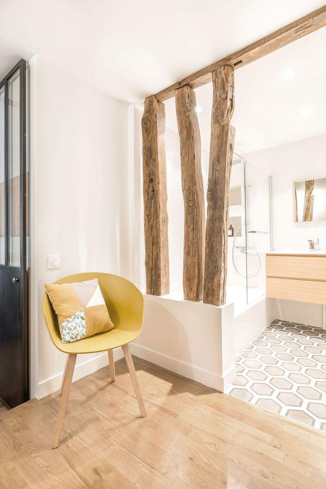 Appartement Paris 9  rénovation d\u0027un 71 m2 haussmannien Carrelage