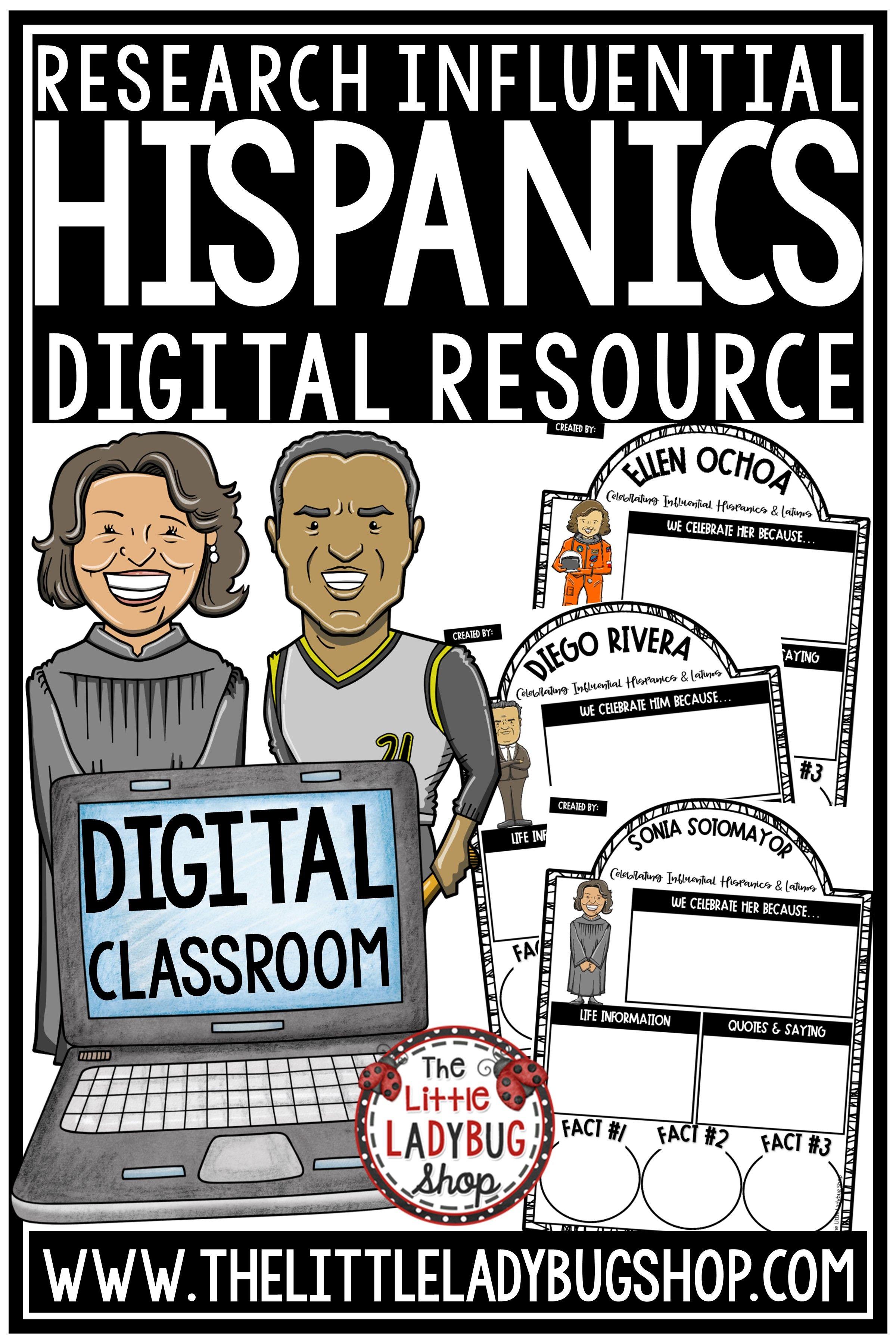 Digital Resource Influential Hispanic Heritage Month