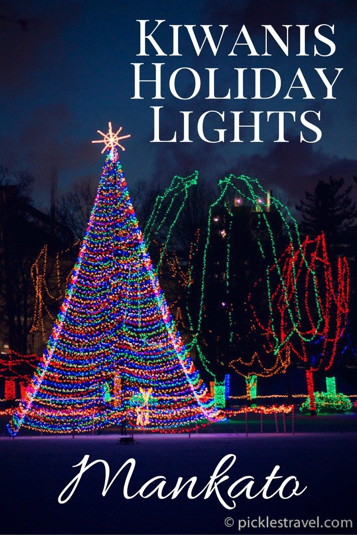 A Christmas Outdoor Holiday Light Show By The Kiwanis Club In Mankato  Put  It On