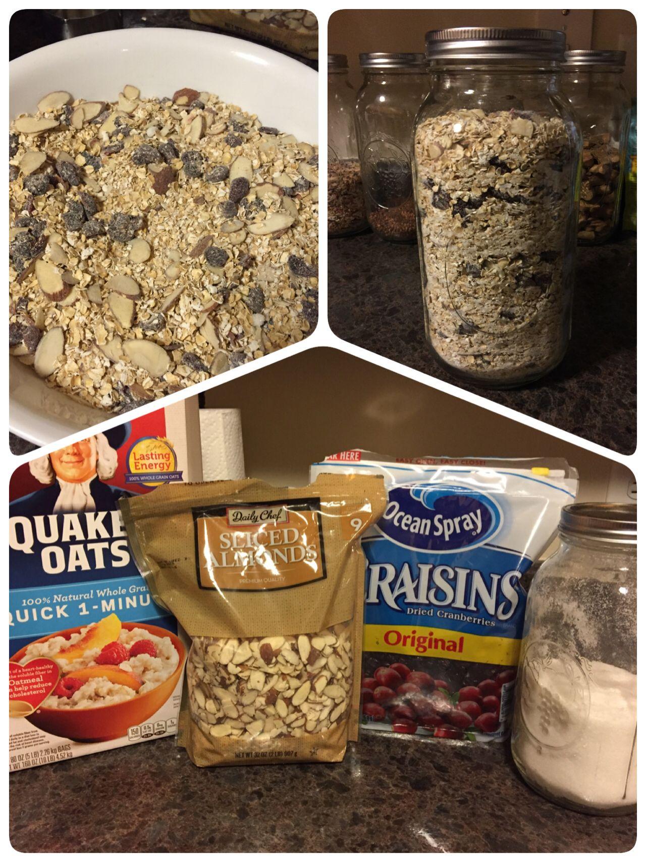 Homemade 1 minute oatmeal 4c quaker oats quick 1 min 1